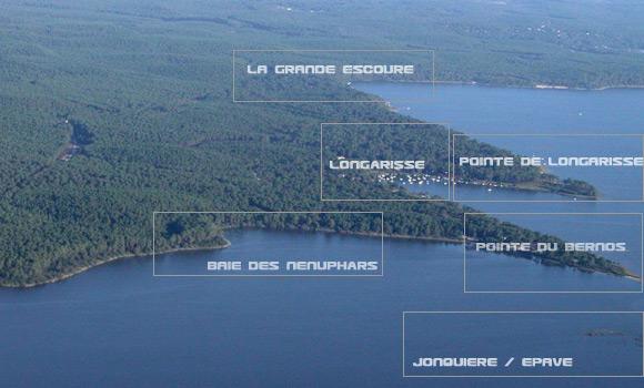 Longarisse la plus jolie baie du lac de lacanau for T2 sur bordeaux