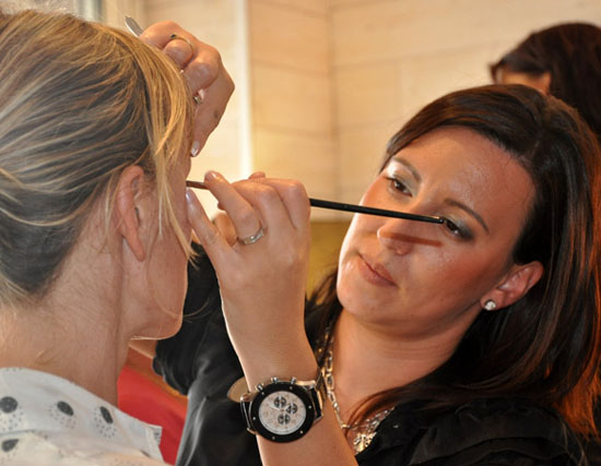 estheticienne maquillage mariage a lacanau
