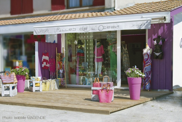 beau magasin de mode en france