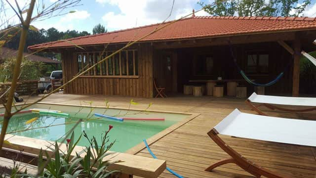 Location lacanau 2017 o louer une maison de vacances lacanau lac et - Maison bois avec piscine ...