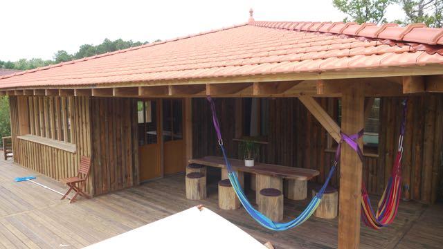 Lacanau location location maison lacanau talaris maison for Piscine bois maison