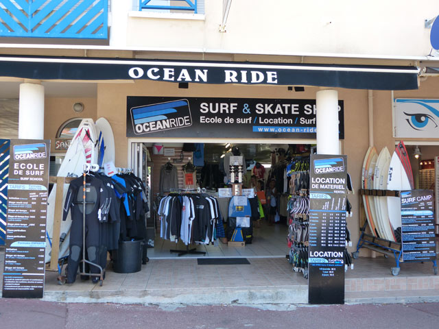 surf shop lacanau ocean ride