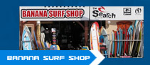 Banana surf shop café