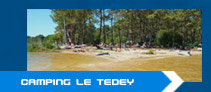 Camping lacanau pointe du tedey camping et mobile home