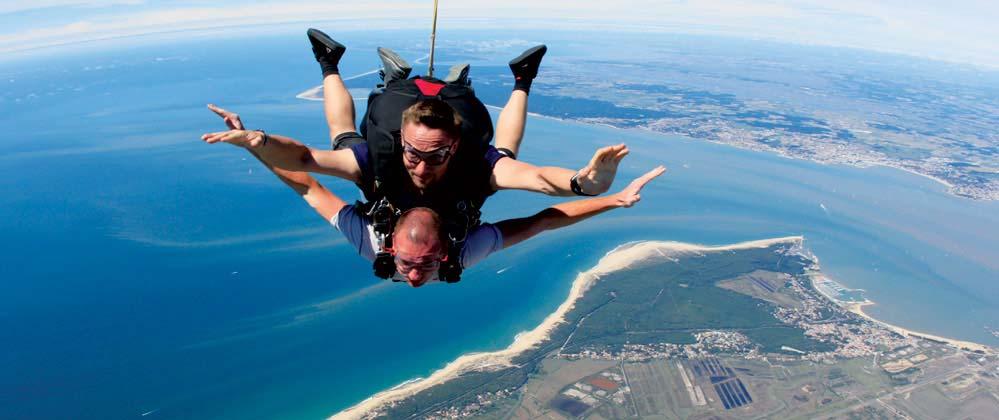 saut en parachute 33 arcachon