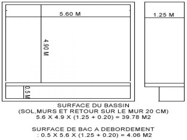 Index of piscine images - Plan piscine debordement ...